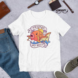 Magikarp Tries His Best Short-Sleeve Unisex T-Shirt