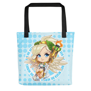 Winged Victory Mercy Tote Bag