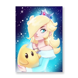 Rosalina Galaxy Mini Print