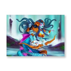 Lady Vashj Mini Print