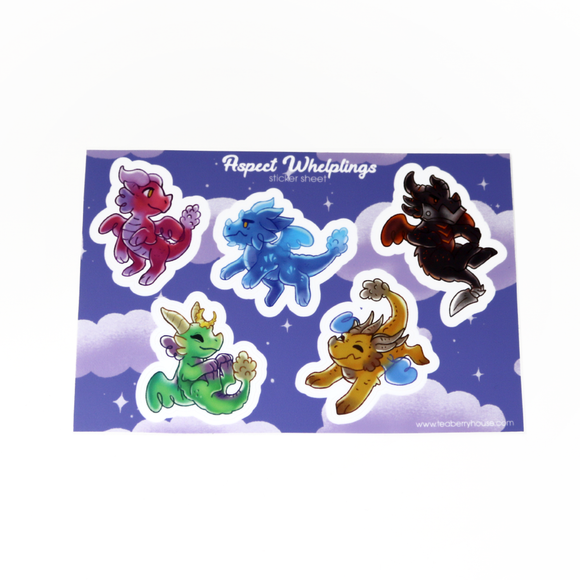 Aspect Whelplings Sticker Sheet