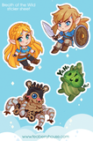 Breath of the Wild Sticker Sheet