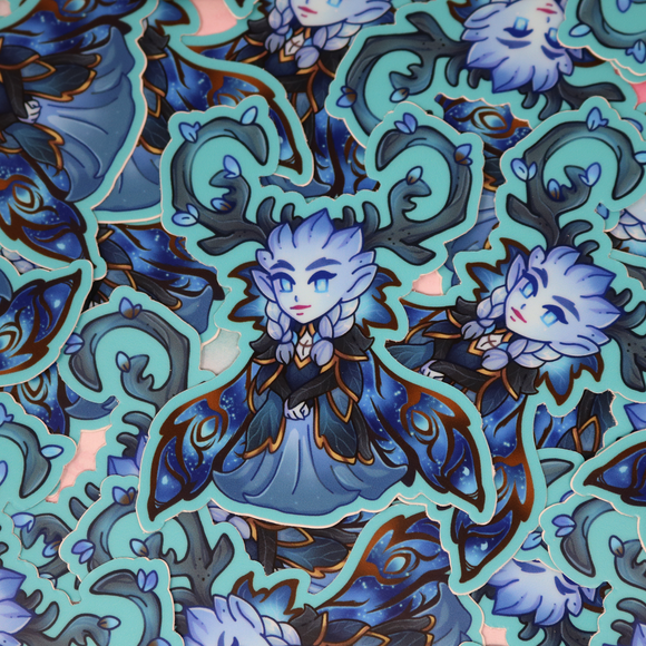 Warcraft Monster Girl -The Winter Queen Sticker