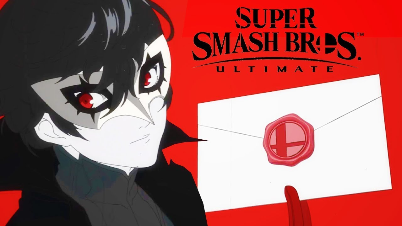 Smash Bros Ultimate and the inclusion of Joker from Persona 5!