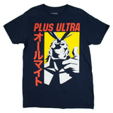 My Hero Academia All Might Plus Ultra Men's Black T-Shirt