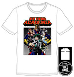 My Hero Academia Men's White T-Shirt Tee Shirt