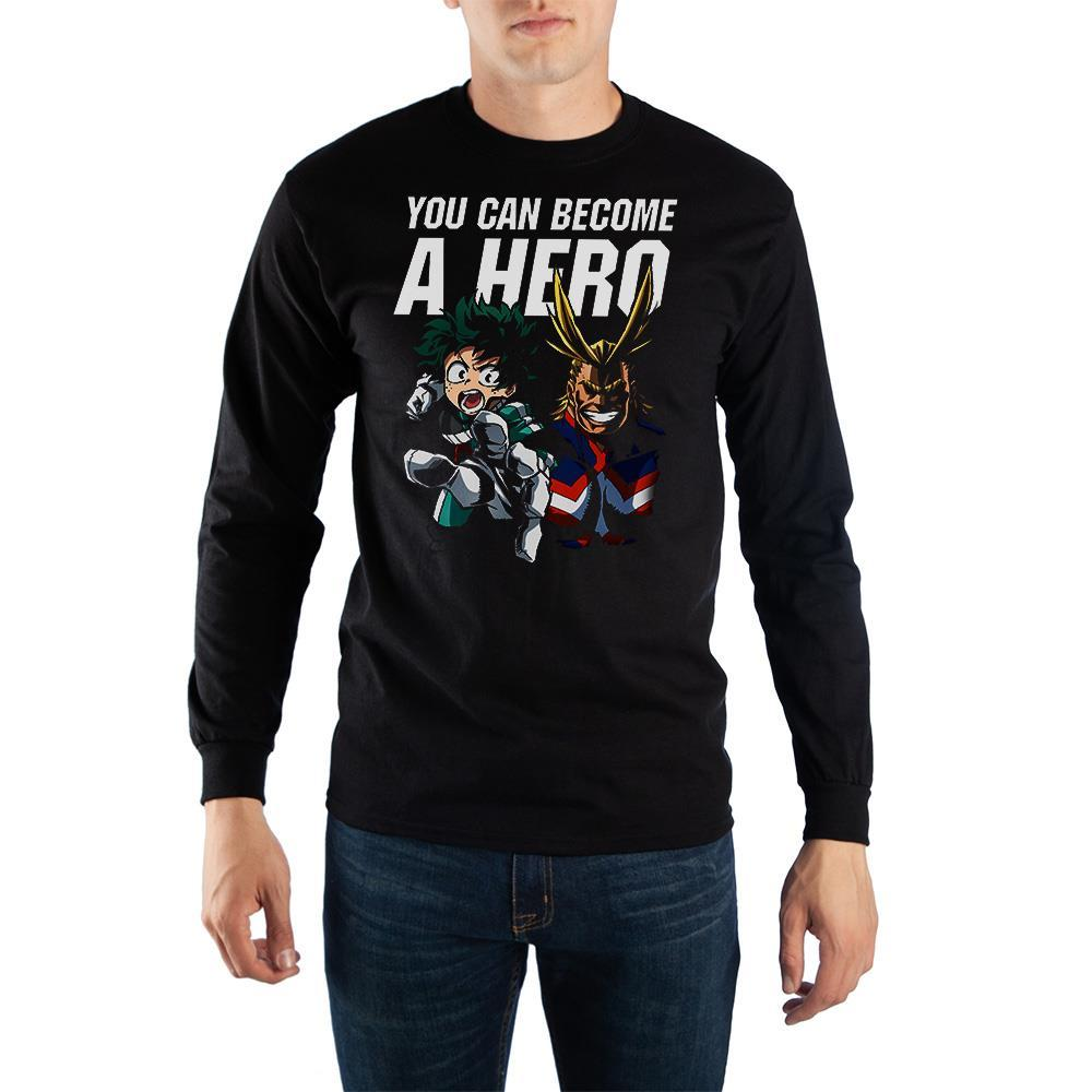 Long Sleeve My Hero Academia Shirt