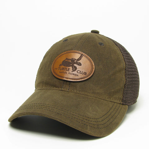 "Old Favorite ""Waxed Cotton"" Trucker Hat"