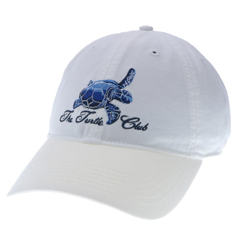 White Turtle Club Hat