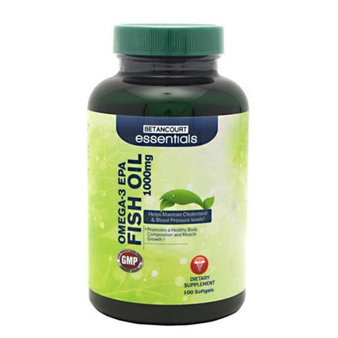 Betancourt Nutrition Betancourt Essentials Omega-3 100 ea Dietary Fat / Oil Supplement