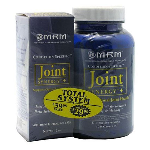 MRM Joint Synergy+ Capsules & Soothing Topical Roll-On 1 ea Joint Care Supplement