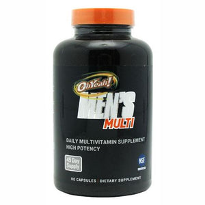 ISS OhYeah! Men's Multi, 90 Caps 90 ea Vitamins and Minerals Supplement