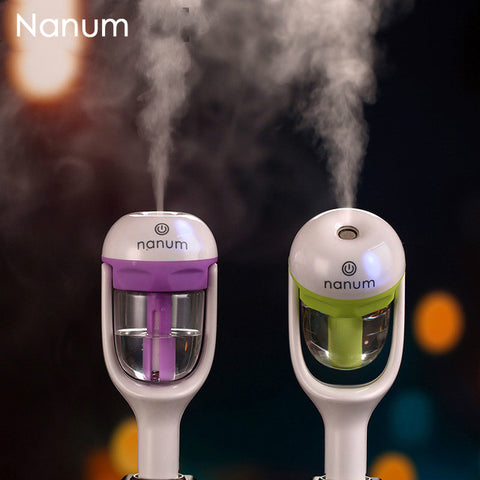 Car Humidifier Air Purifier Freshener 50ML Essential Oil Diffuser Aromatherapy DC 12V Portable Auto Mist Maker Fogger 4 color