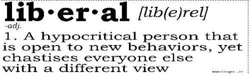 Definition of a Liberal Bumper Sticker