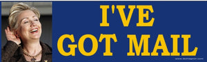 Hilary Clinton E-Mail Scandal Bumper Sticker