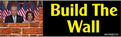 Build the Wall Bumper Sticker