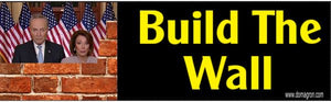 Build the Wall Bumper Sticker - DOMAGRON
