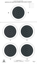 Load image into Gallery viewer, A-31 50 Yard Smallbore Rifle Target (Pack of 100) - DOMAGRON