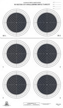 Load image into Gallery viewer, A-50 50 Meter Smallbore Rifle Target (Pack of 100) - DOMAGRON