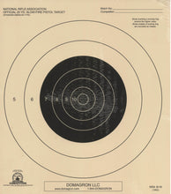 Load image into Gallery viewer, B-16 - 25 Yard Slow Fire Pistol Target Official NRA Target - DOMAGRON