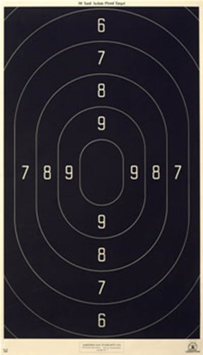 B-18 - 50 Yard Action Pistol Official NRA Target 18.5