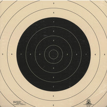 Load image into Gallery viewer, B-19C - Repair Center for the 50 Yard Slow Fire Pistol Target Official B-19 NRA Target (Pack of 100) - DOMAGRON