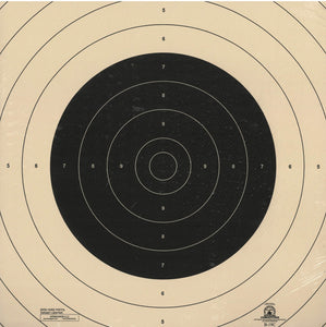 B-19C - Repair Center for the 50 Yard Slow Fire Pistol Target Official B-19 NRA Target (Pack of 100) - DOMAGRON