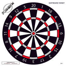 Load image into Gallery viewer, Dart Board Shooting Target (100 Pack) - DOMAGRON