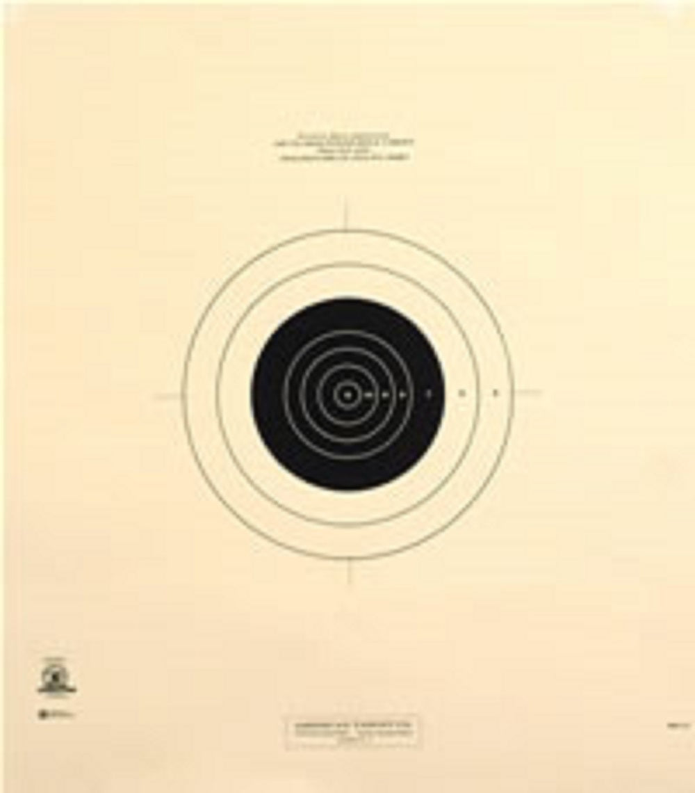 100 Yard Reduction of 600 Yard Military Target- MR31 - 100 Pack
