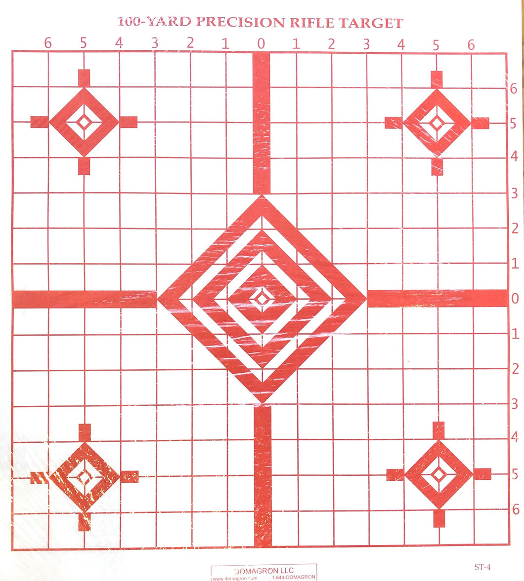 ST-4 - 100 Yard Rifle Sighting Target