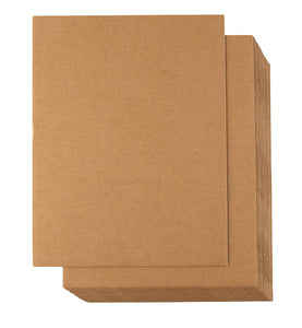 "Paper Target Backer - 14"" x 28"" for 100 m targets (Package of 100) - DOMAGRON"