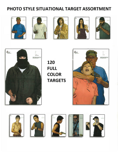 Photo Situational Target Assortment - 12 Different 23