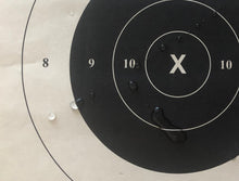 "Load image into Gallery viewer, IDPA - Weather Resistant Official IDPA Practice Target 22"" x 34.5"" (48 Pack) with Rite in The Rain Technology"