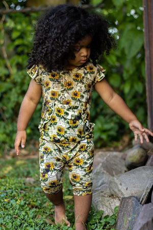 "The ""Argentina Sunflower"" Romper"