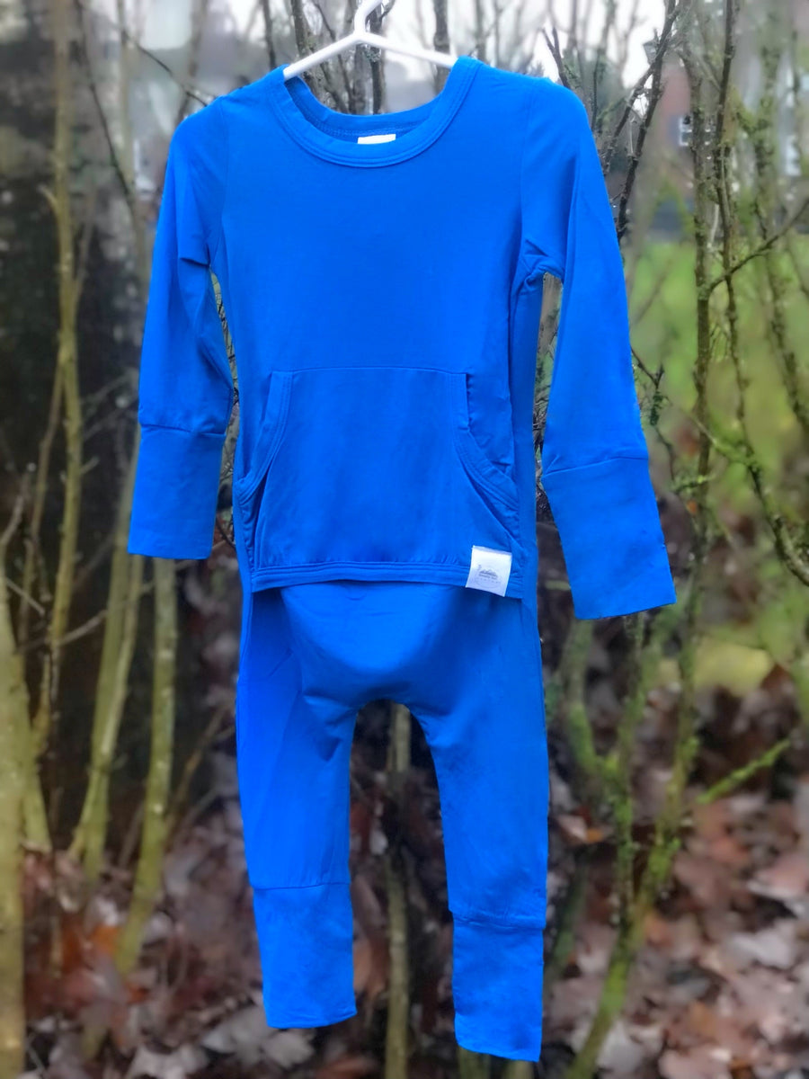 The Okanagan Blue Romper