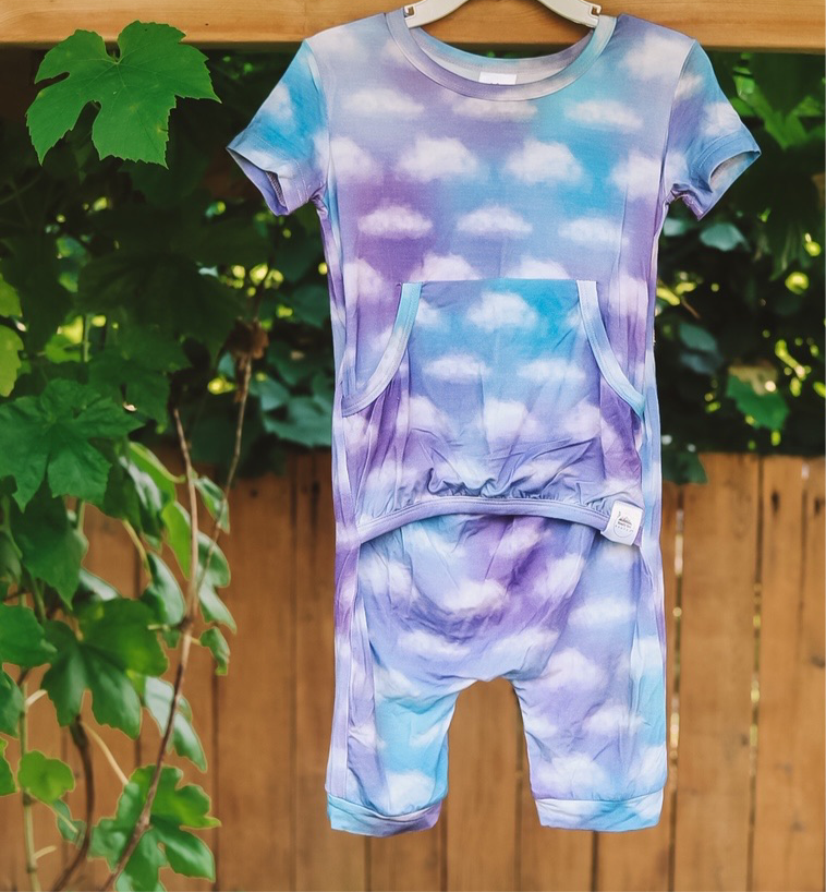 "The ""Clouds Over Bali"" Romper FINAL SALE"