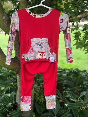 The Owls Of Pompeii Romper