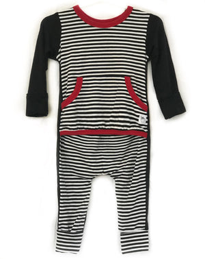 """Jericho Striped"" Romper"