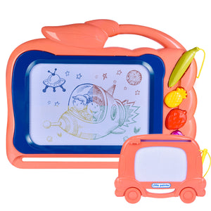 "2 Pack Magnetic Drawing Board for Kids, 12"" X 15"" Doodle Board Toddler Toys, Best Choice for Birthday Gifts (4601899810862)"