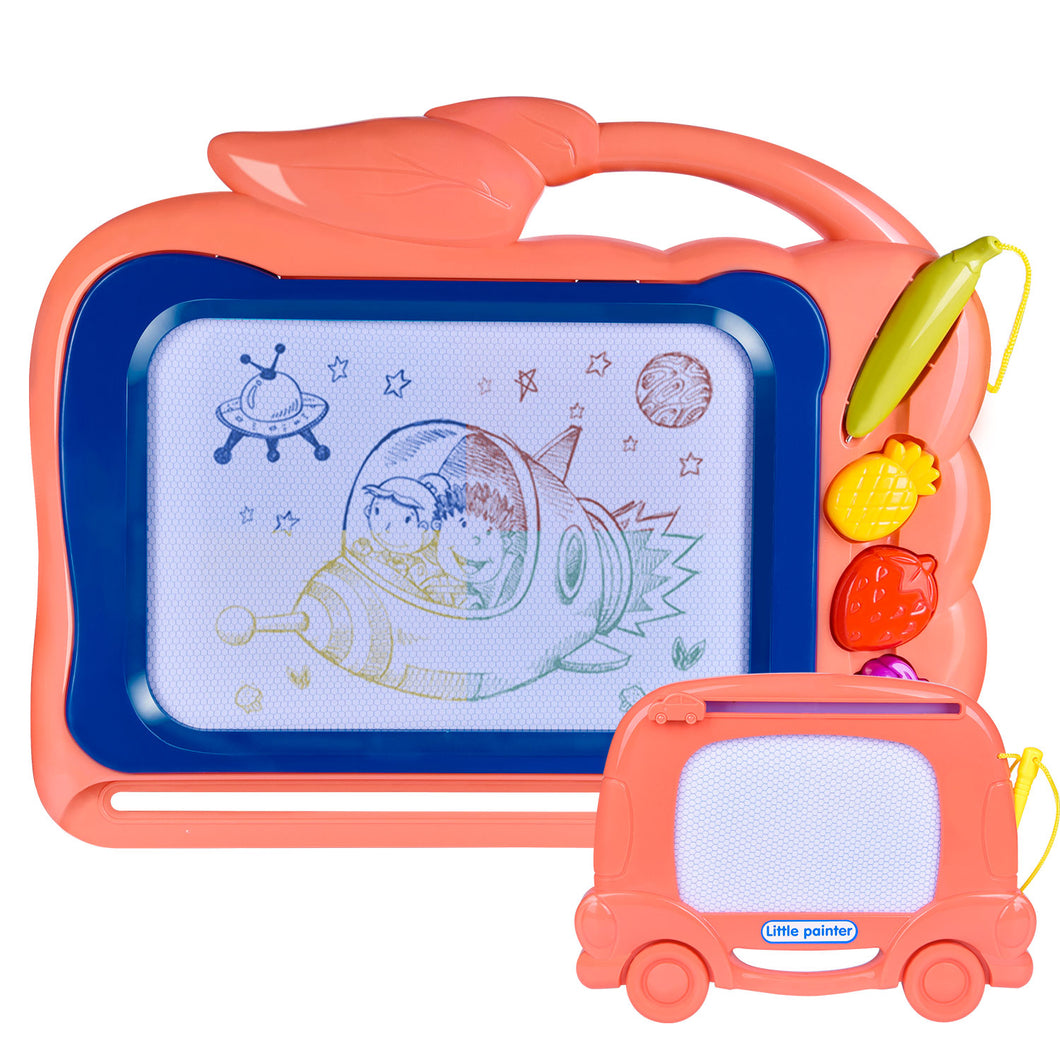 2 Pack Magnetic Drawing Board for Kids, 12