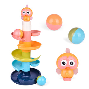 Ball Drop Toys for Baby and Toddler, Drop and Go Ramp Toys, Baby Activity Center Educational Toys (4601881559086)