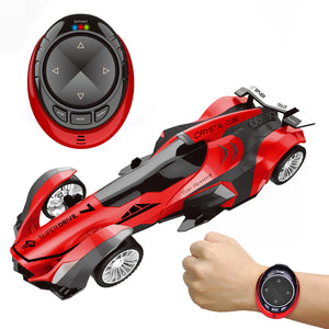 Remote Control Car, High Speed Racing Car with USB Charger, Multi Function & LED Light, Smart Watch Voice Command Remote Control Car (4603554955310)