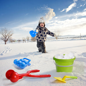 Snowball Maker Tools for Kids-12 Pieces and for Kids and Adults Snow Ball Fights, Fun Snowball Toys for Winter Outdoor Activities (4600463327278)