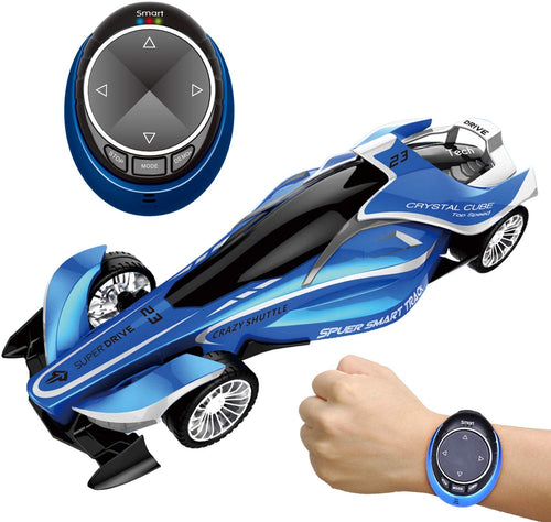 RC Car for Kids, Remote Control Vehicles Toy for Boys, High Speed Drift Racer Car with Smart Watch Voice Command (4603554136110)