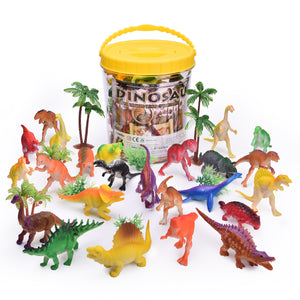 32PCs Mini Toy Dinosaurs, Best Choices for Goodie Bag Fillers, Kids Prizes, Kids Party Favors (4603462025262)
