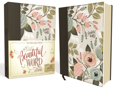 Beautiful Word Bible NIV - Multi Color Floral
