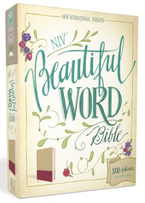 Beautiful Word Bible -taupe