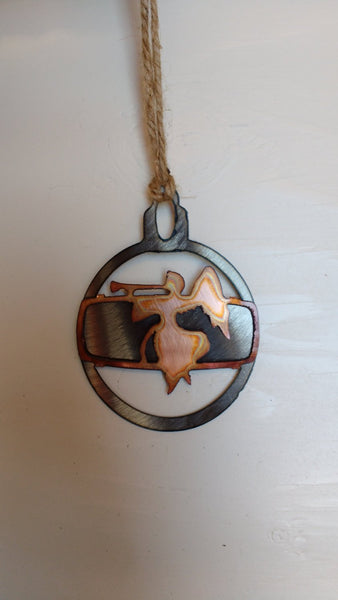 Copper Angel Ornament