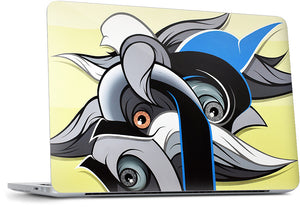 Passage of time MacBook Skin