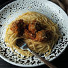 Low-Carb Spaghetti and Lentil Balls